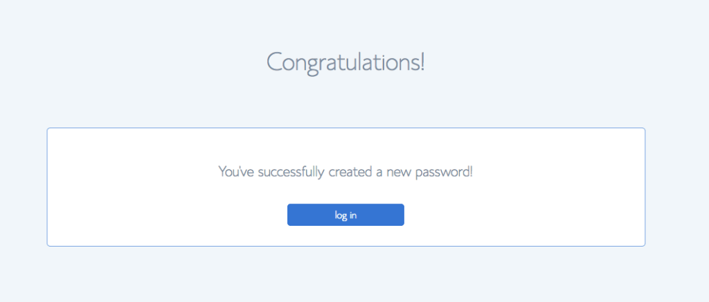 STEP SIX: Set up your account password. Be sure to jot it down where you can remember it!